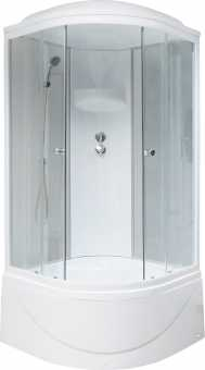 Душевая кабина Royal Bath RB 90BK4-WT 90x90
