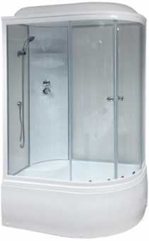 Душевая кабина Royal Bath RB 8120BK4WT L 120x80